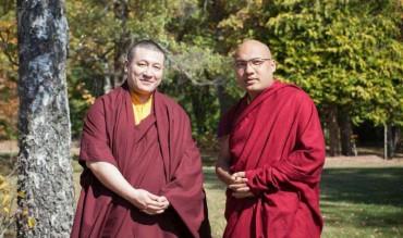 Cuộc gặp lịch sử giữa Đức Karmapa Trinley Thaye Dorje và Đức Karmapa Ogyen Trinley Dorje